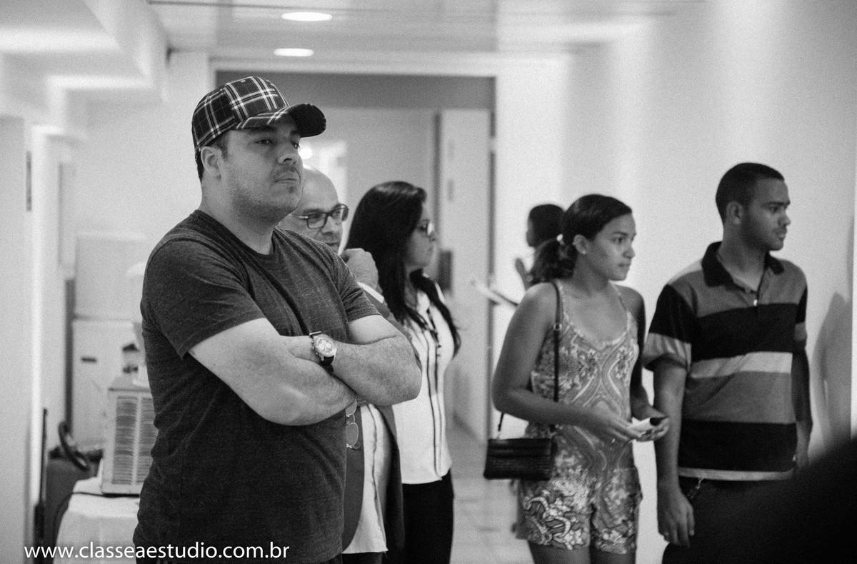 Palestra para noivas na Ferreira Costa com o djs de casamentos Beto Karioca