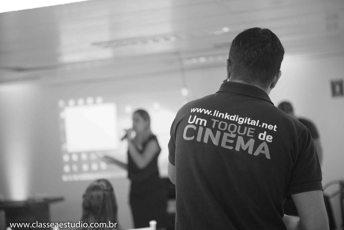 Palestra para noivas na Ferreira Costa sobre casamentos com a link digital filmes