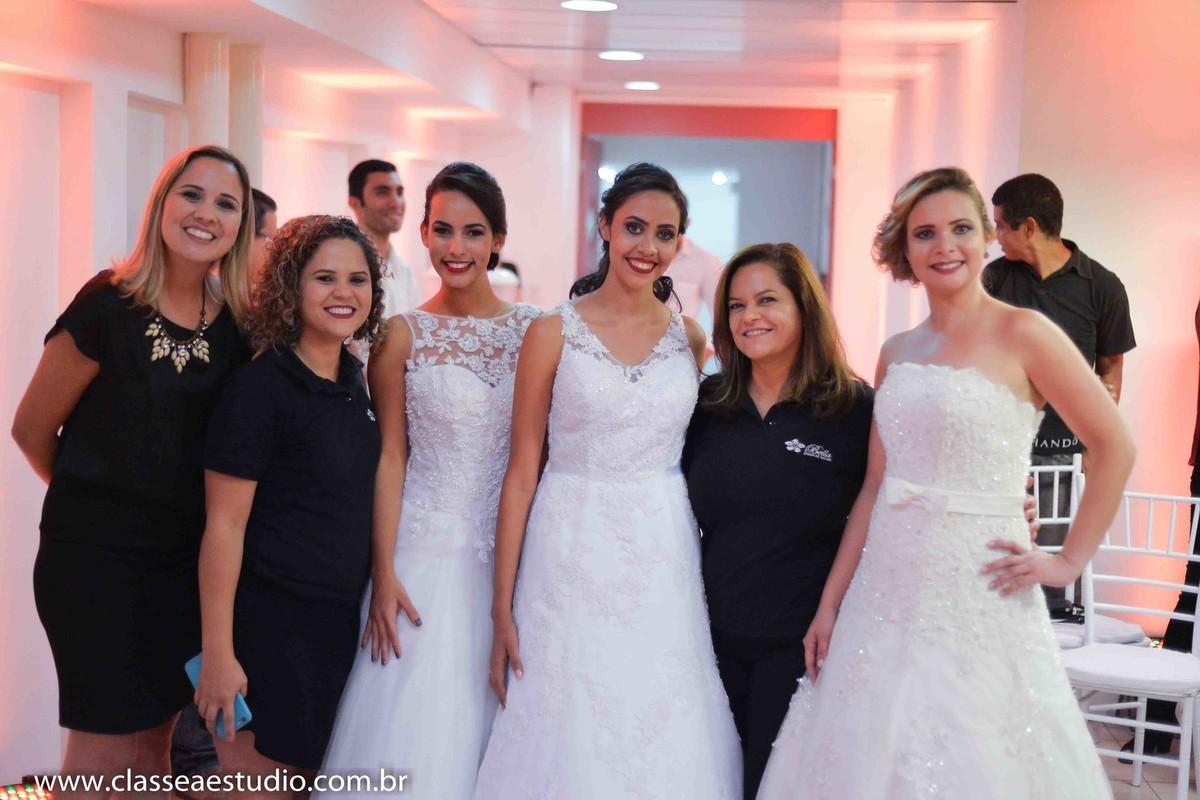 Palestra para noivas na Ferreira Costa sobre casamentos com a loja Luc Vest
