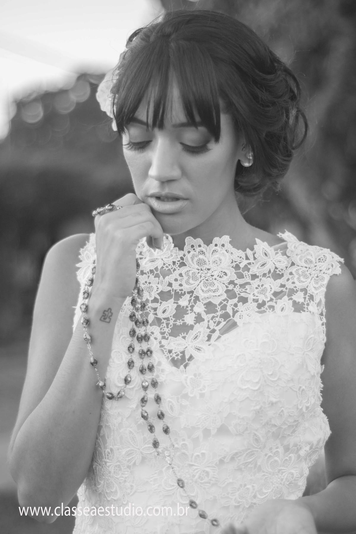Ensaio fotografico de noiva