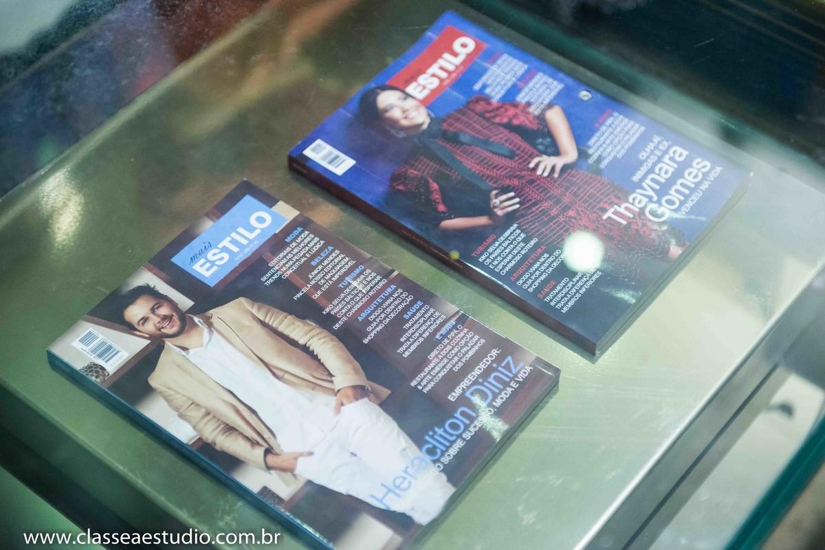 O lançamento da revista Mais Estilo na loja Empório HD
