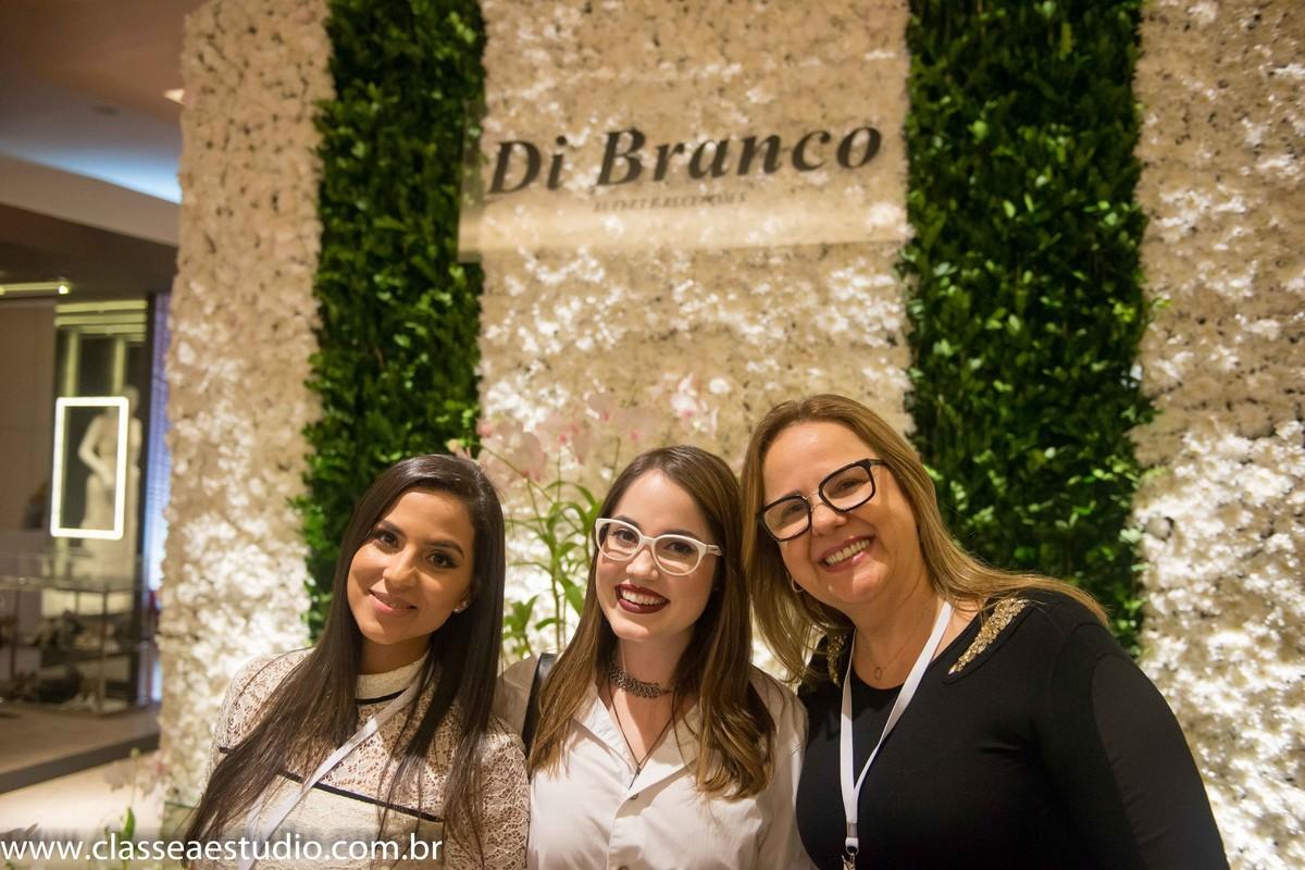 A blogueira Karina Filizola e Jacqueline Branco, Di Branco Recepções