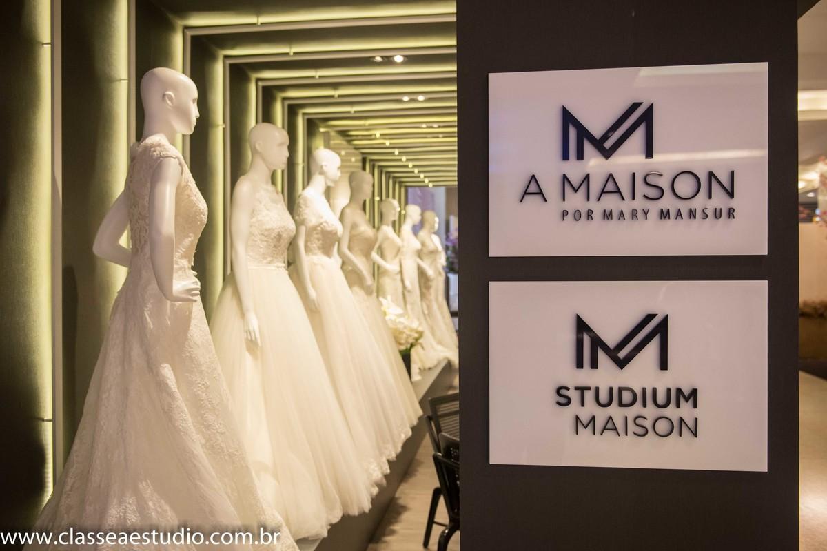 Vestidos de noivas da A Maison por Mary Mansur