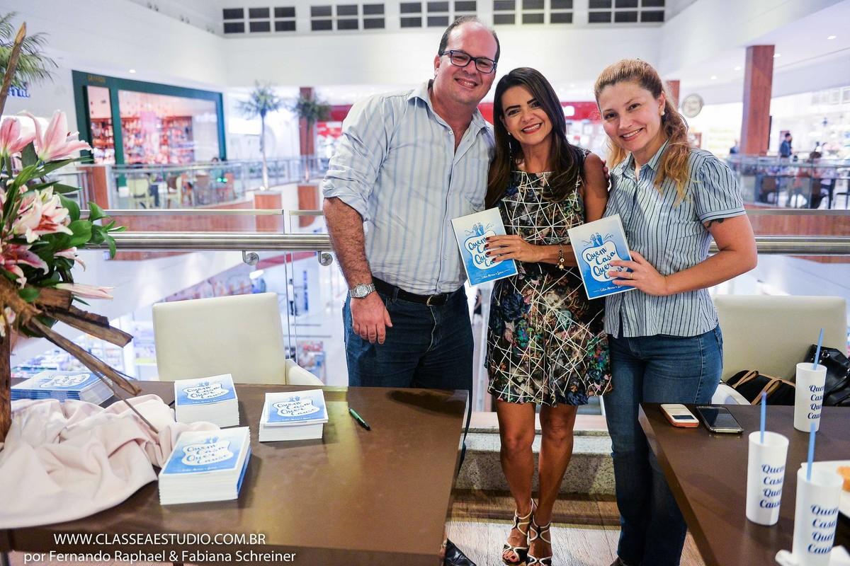 Fotografo Fernando Raphael, assessora de casamentos Celia Abreu e fotografa Fabiana Schreiner