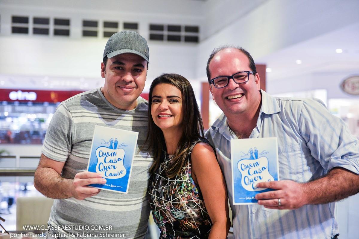Assessora de casamentos Celia Abreu, Dj Beto Karioca, e fotografo Fernando Raphael