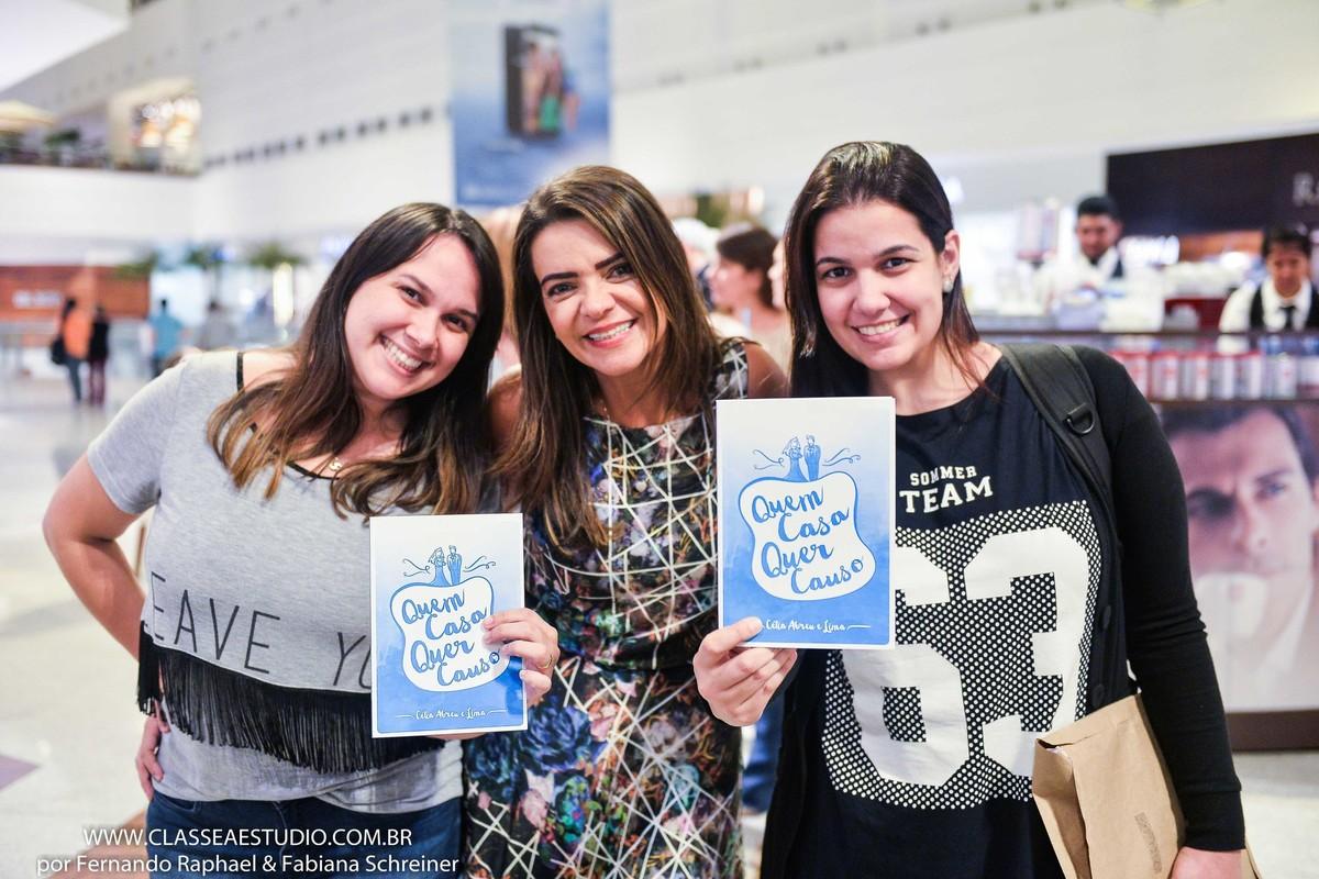 Blogueira Patricia Fortes, blog noivas do Brasil, assessora de casamentos Celia Abreu e blogueira Nina Lacerda, blog ate que enfim