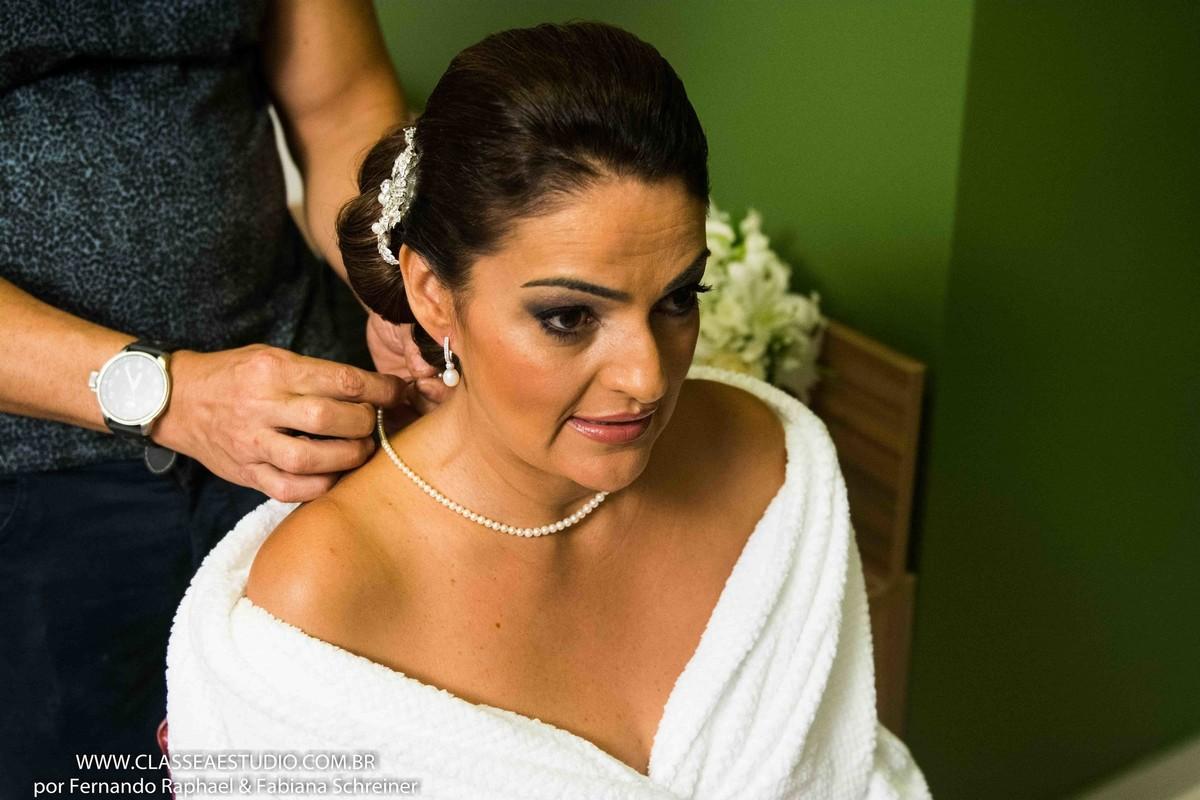 produção de noiva