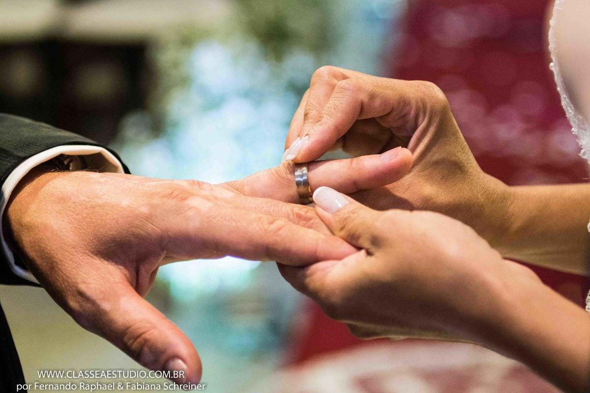 aliança do noivo