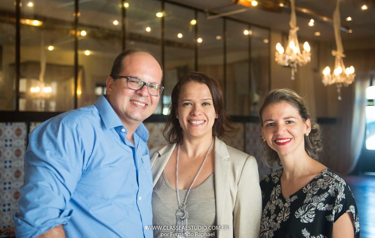 Fernando Raphael, Jane Monteiro e Leticia Goes