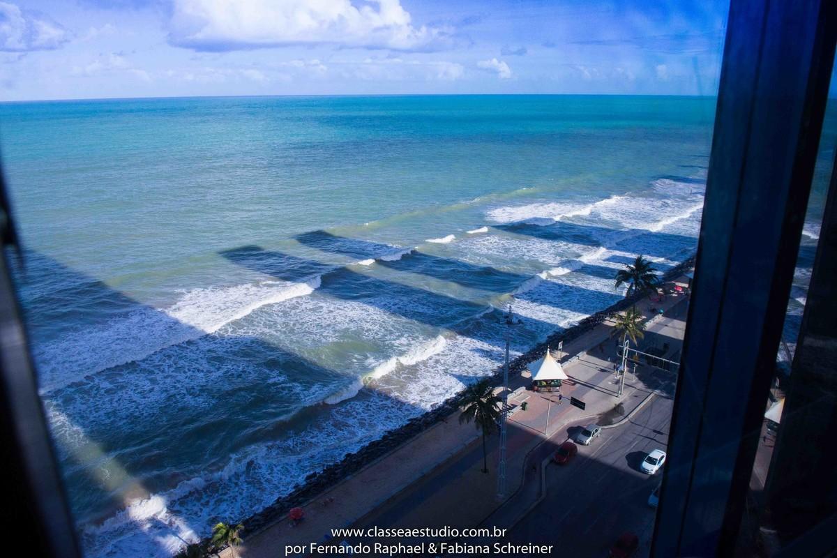 vista da praia de Boa viagem do Hotel Grand Mercure no salão de noivas e festas wedding day