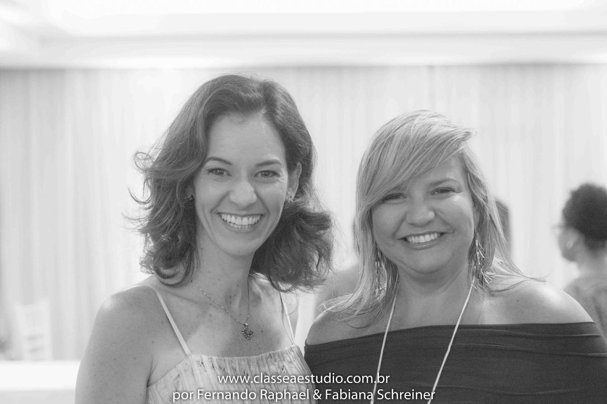 Paola Muniz (Lovely 15) e Ana Paula Goes (buffet Barroso) no salão de noivas e festas wedding day