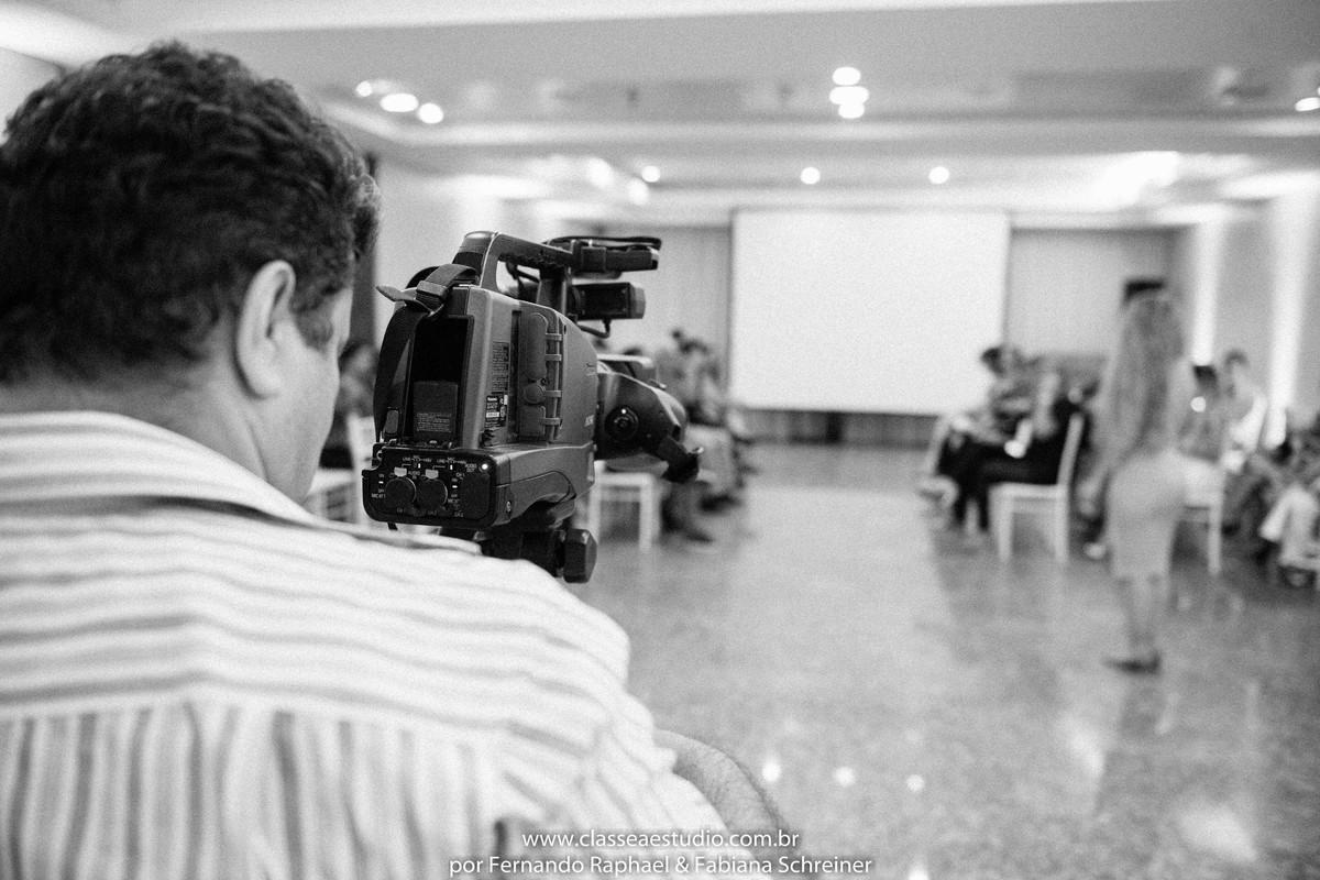 Matéria televisiva no salão de noivas e festas wedding day