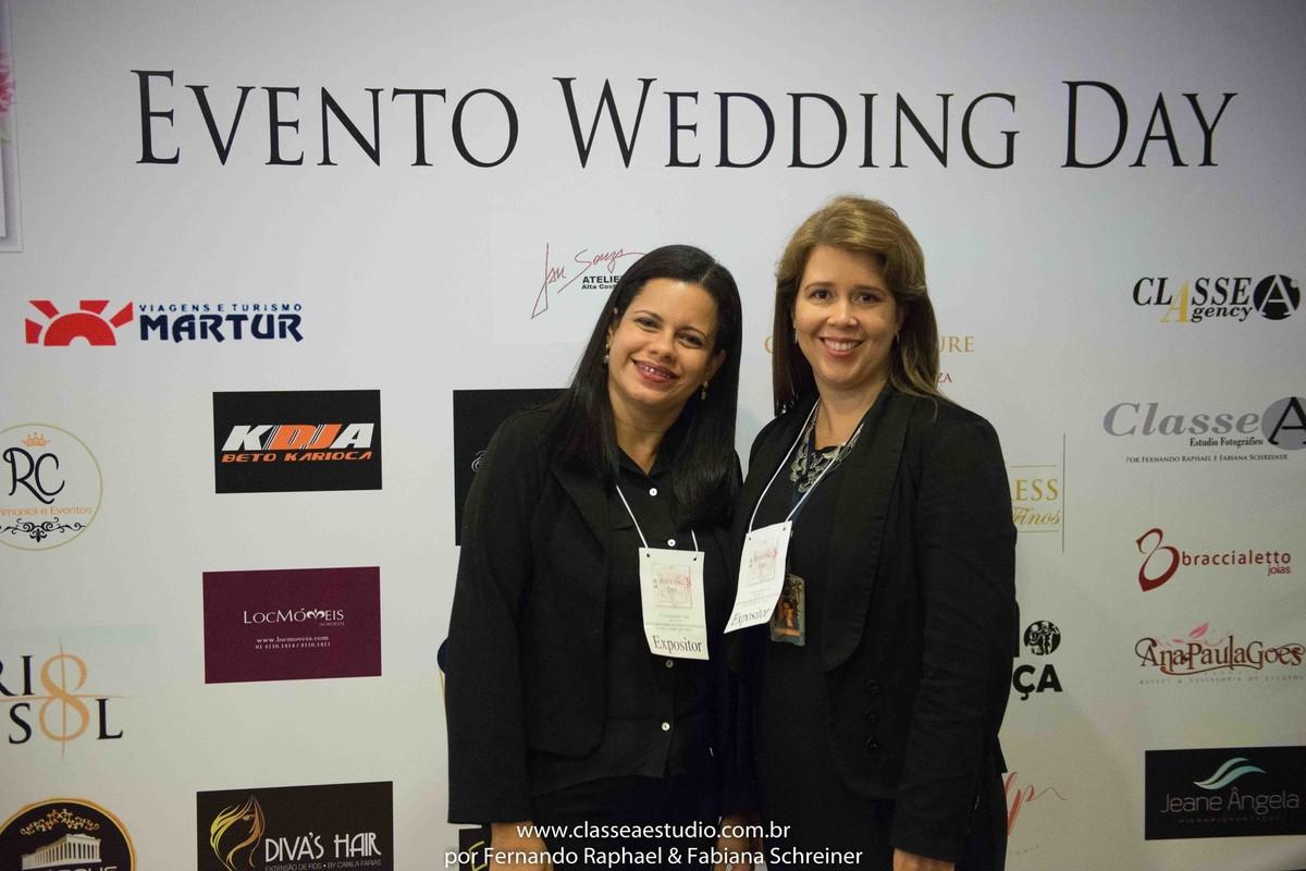 Akropolis eventos e buffet Cristal por Suelda e Cintia durante o salão de noivas e festas wedding day