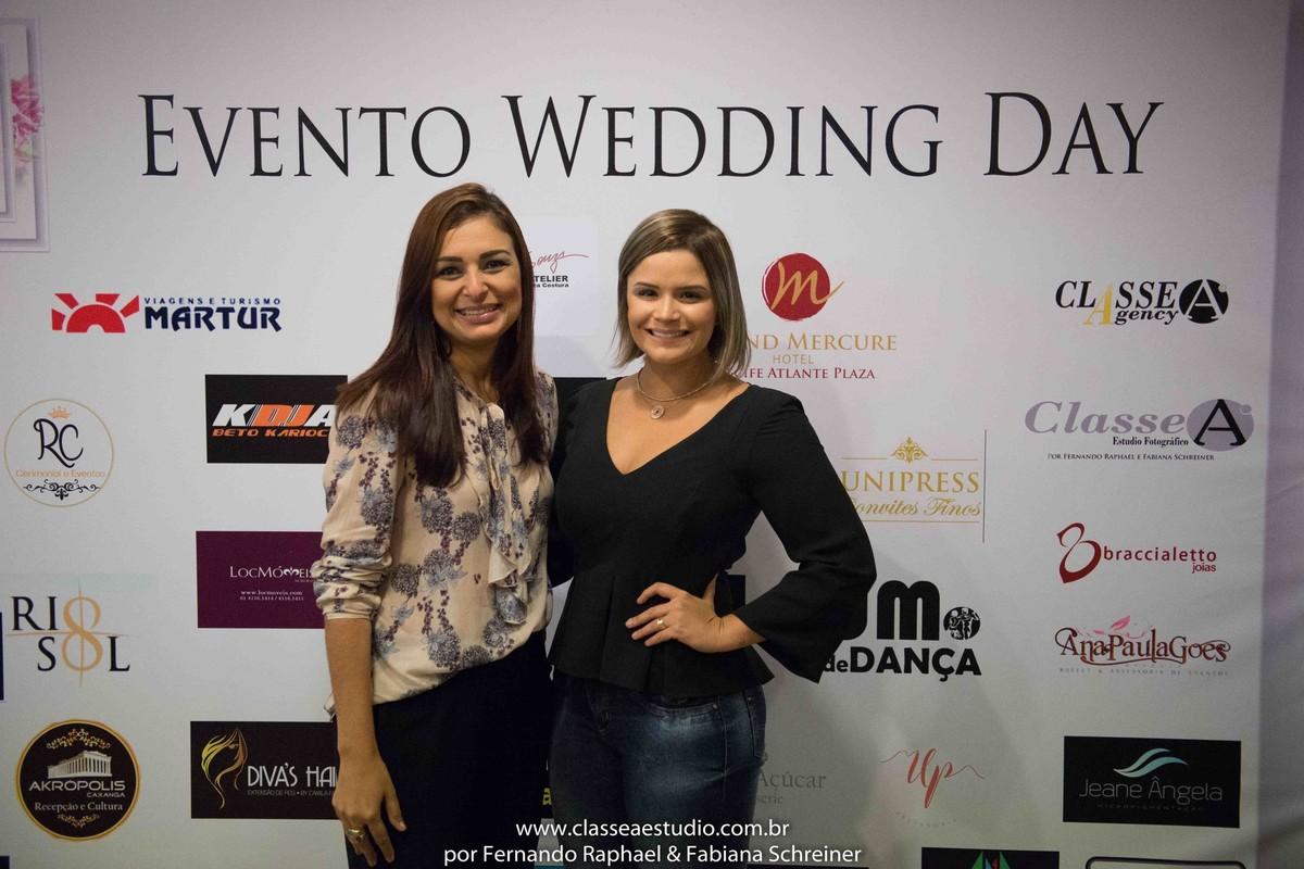 Zaine da Braccialetto Jóias e a blogueira Cuca Amorim