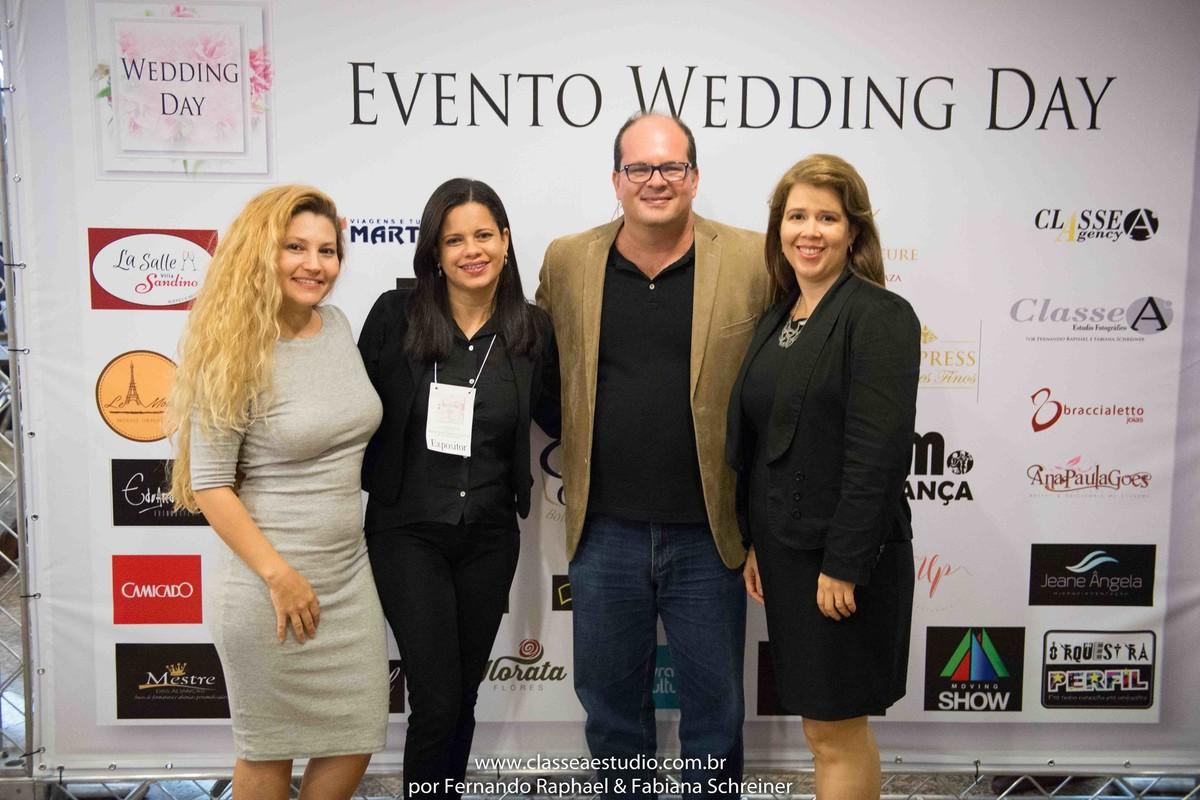 Fabiana Schreiner, Suelda do Buffet Cristal, Fernando Raphael e Cintia do Akropolis recepções no salão de noivas e festas wedding day