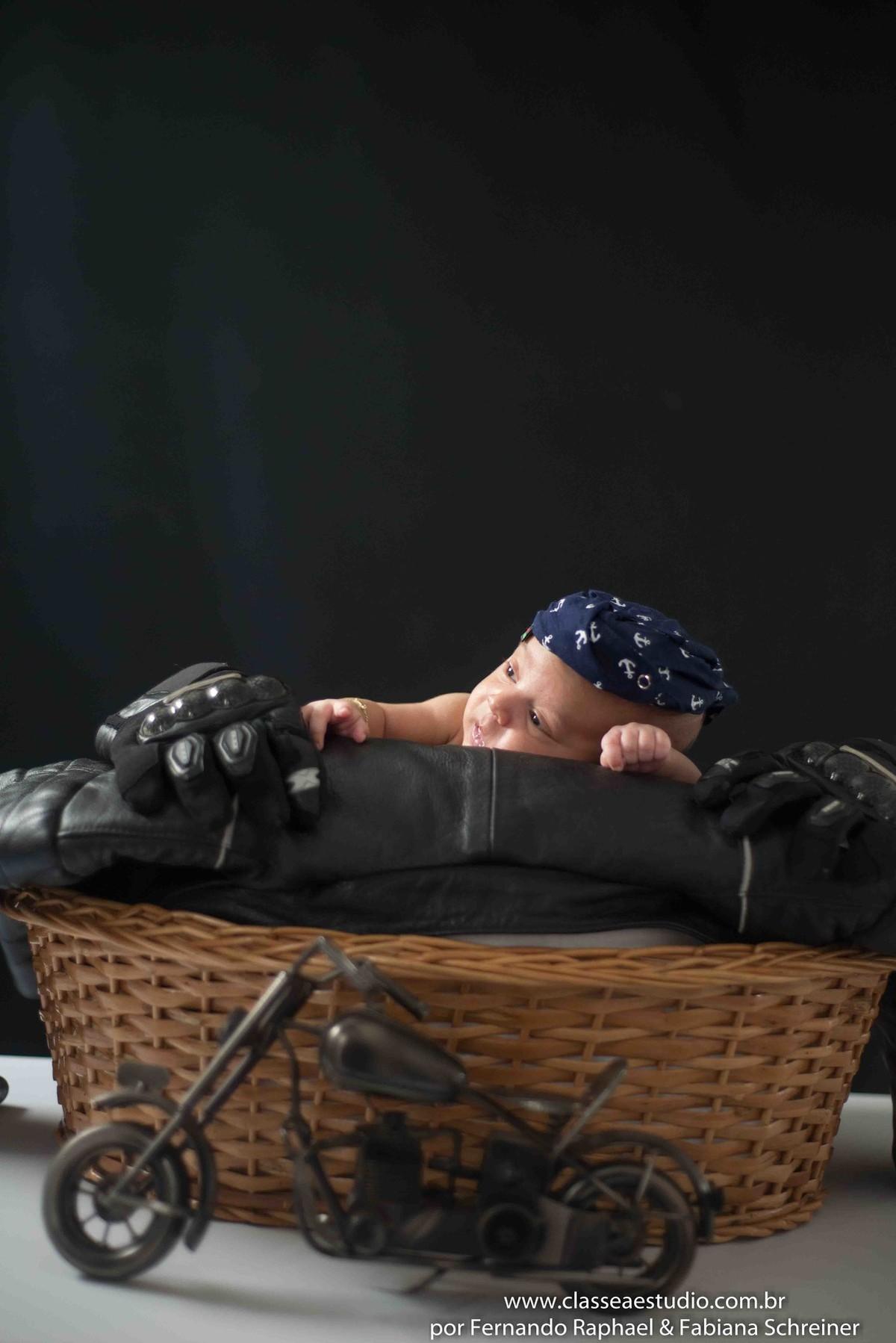 Estudio fotografico para recém nascidos