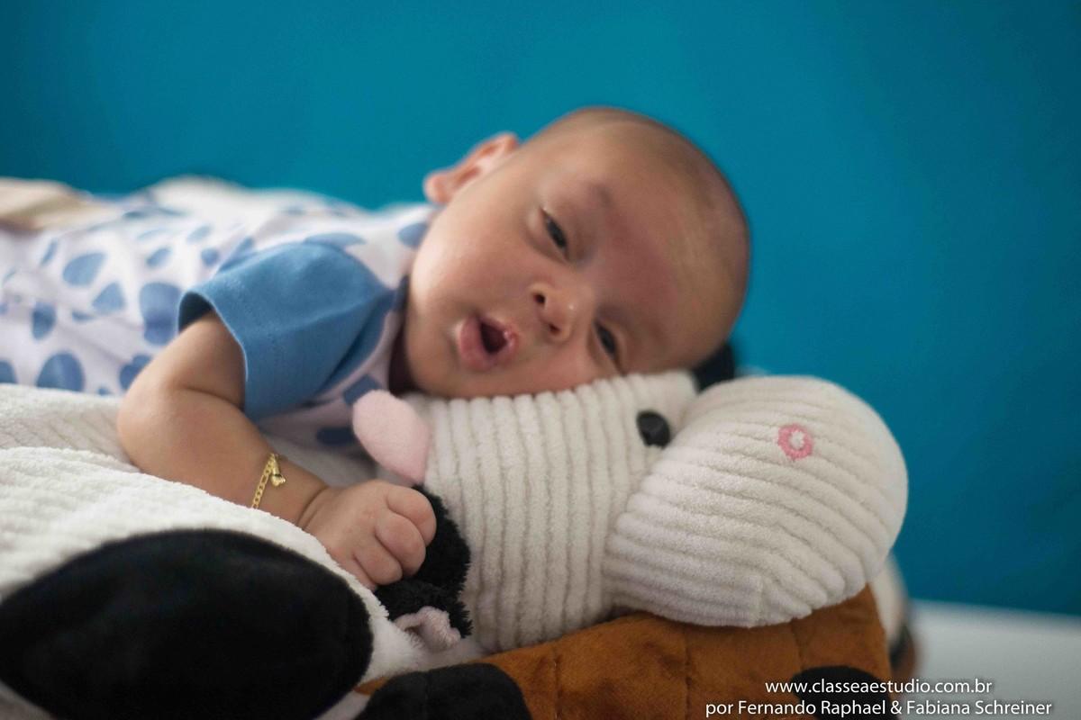 Book fotográfico de recém nascido
