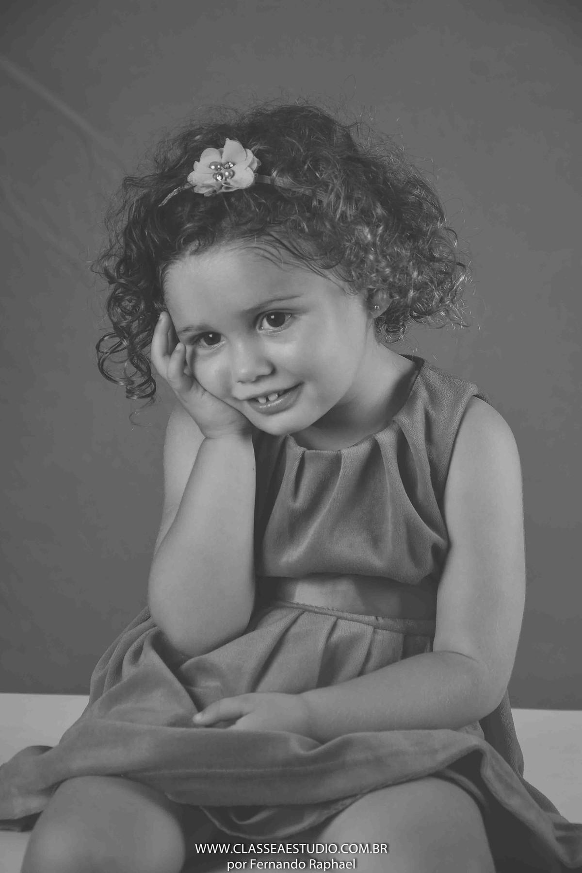 book fotográfico de criança
