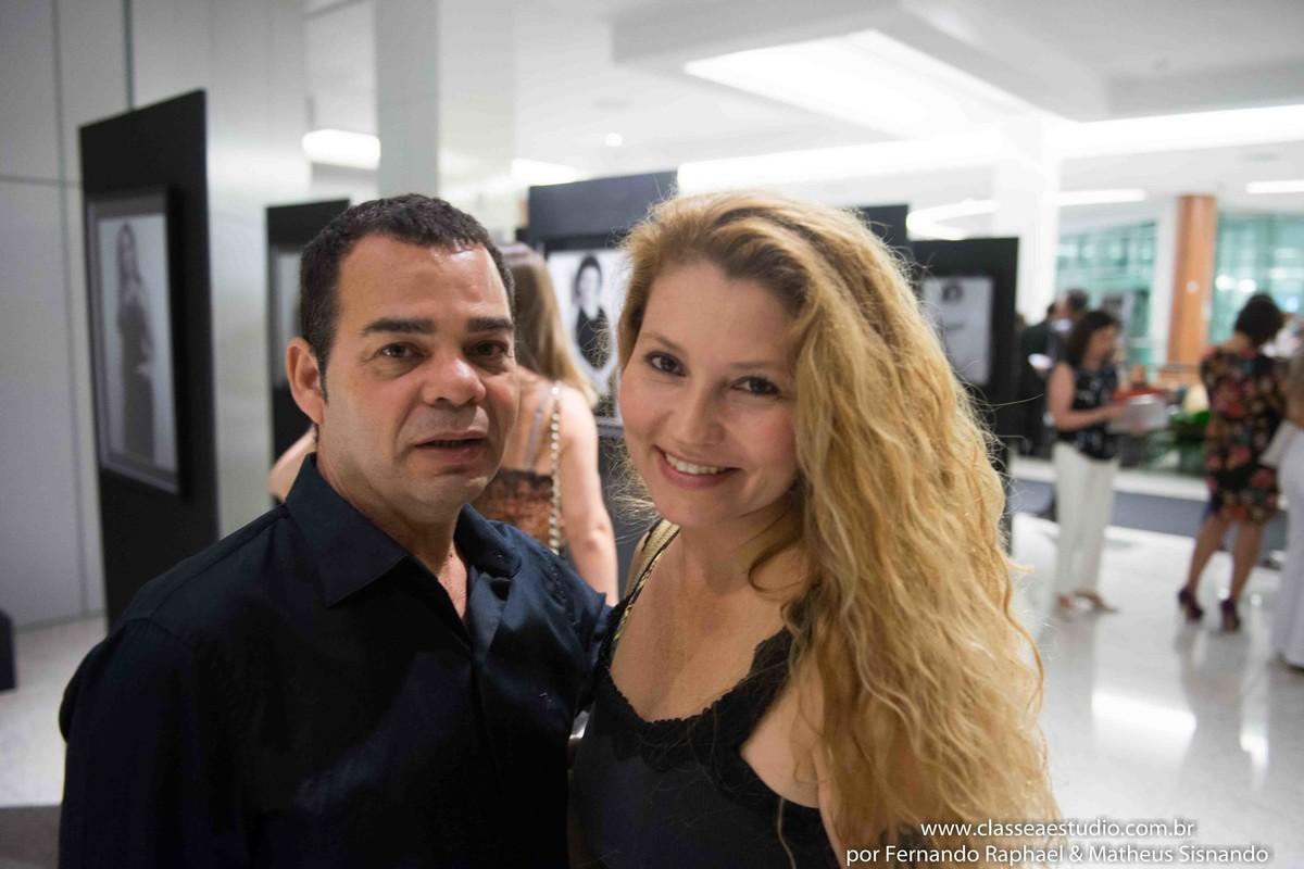 Laercio AZ e Fabiana Schreiner