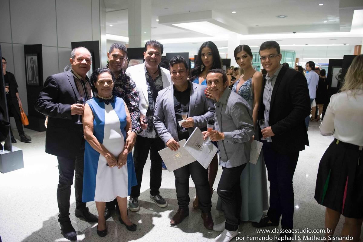 Miguel Braga, Marcos Sales e palco da moda