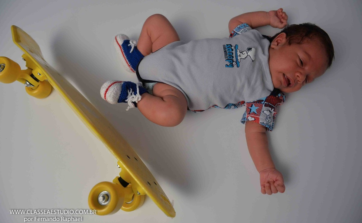 ensaio fotográfico de bebê