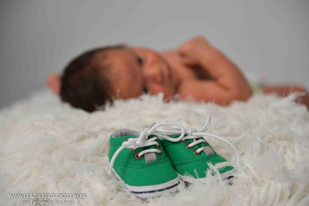 book fotografico de recém nascido