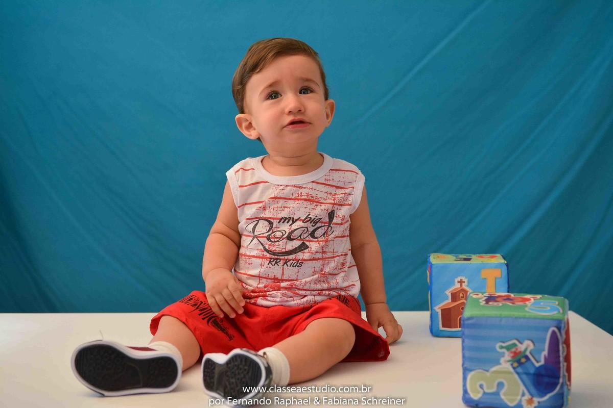 book fotografico de bebê