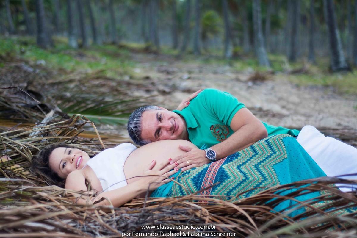 Fotos de gravida na praia