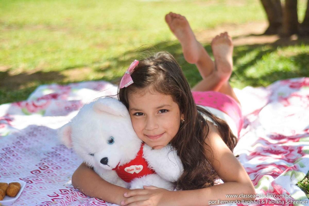 ensaio fotográfico de criança no parque dona lindu
