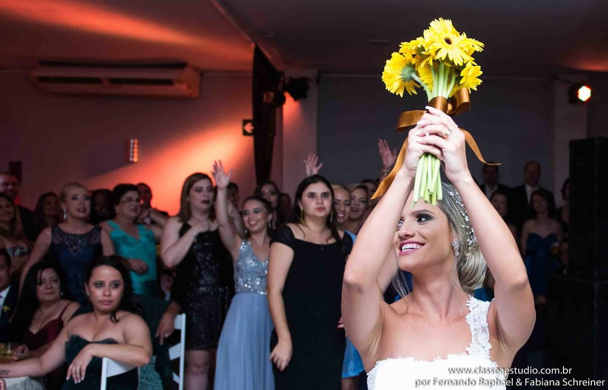 o buquet da noiva de casamento