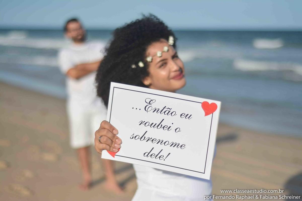 Book fotografico de casal na praia