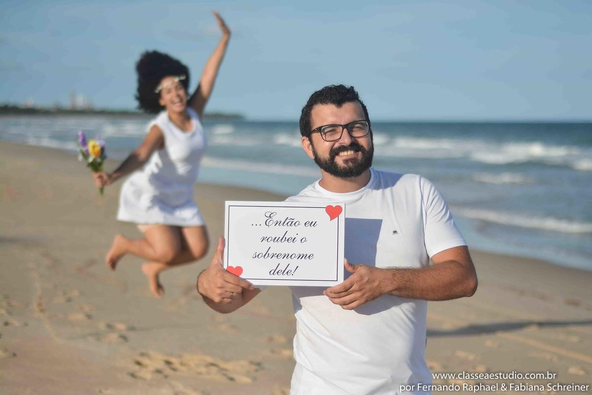Pré-wedding na praia em Recife