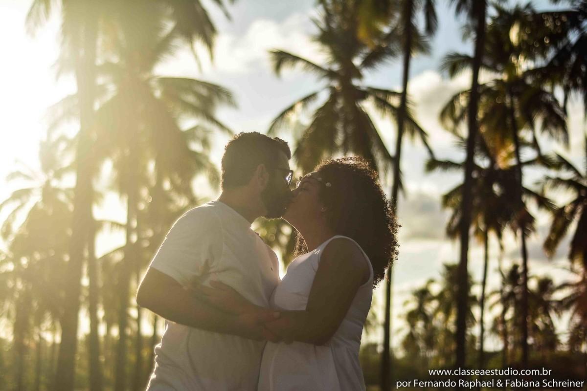 Trash the dress de casal em Recife