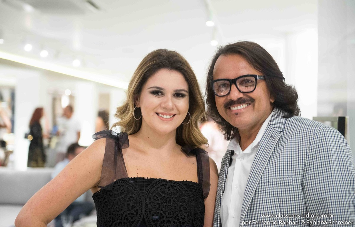 Mary Mansur e Augusto Werner