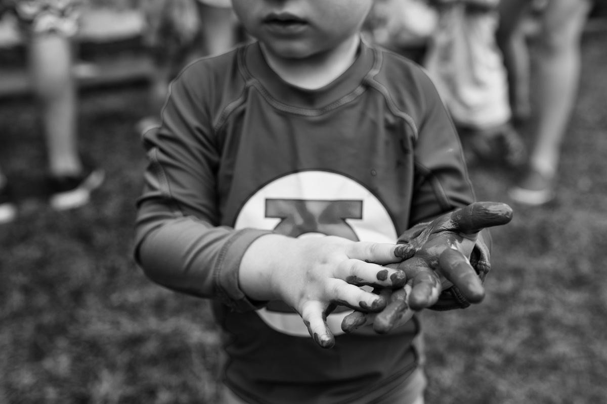 Foto de E a criança sorriu