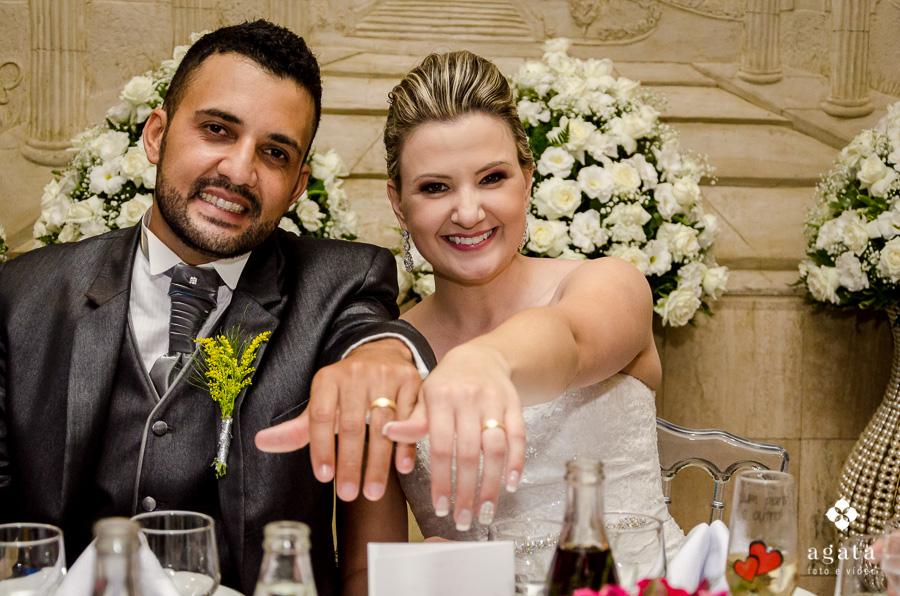 Aliança dos noivos