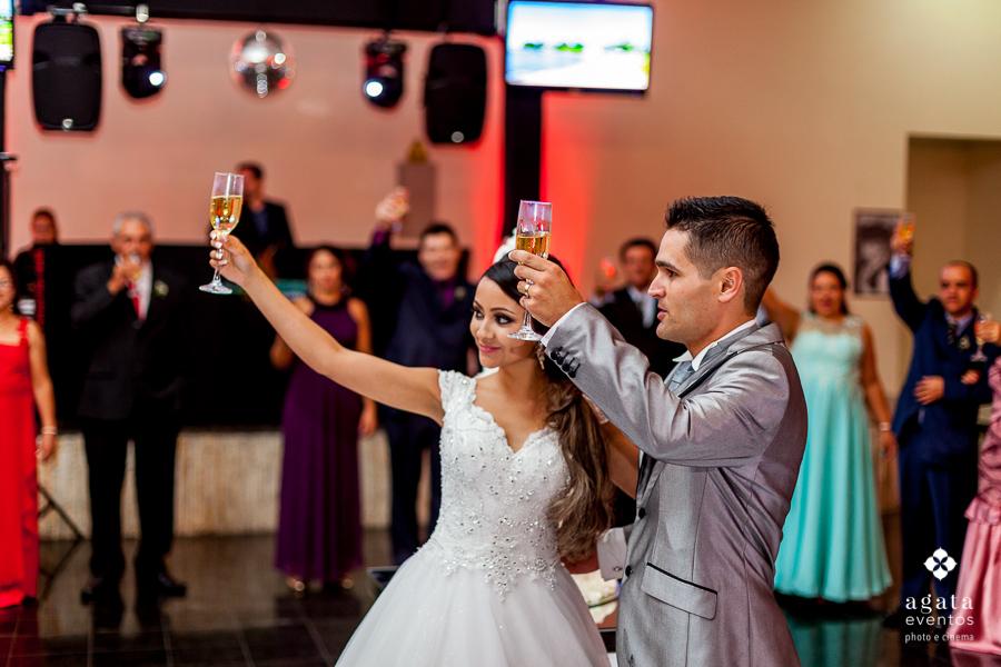 Brinda dos noivos