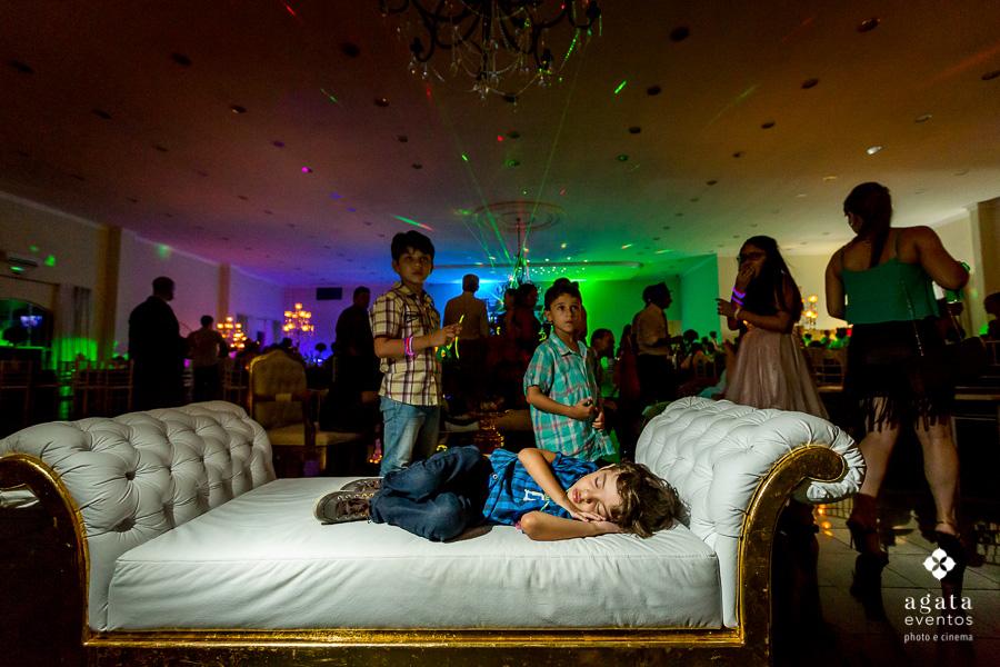 Soninho no casamento