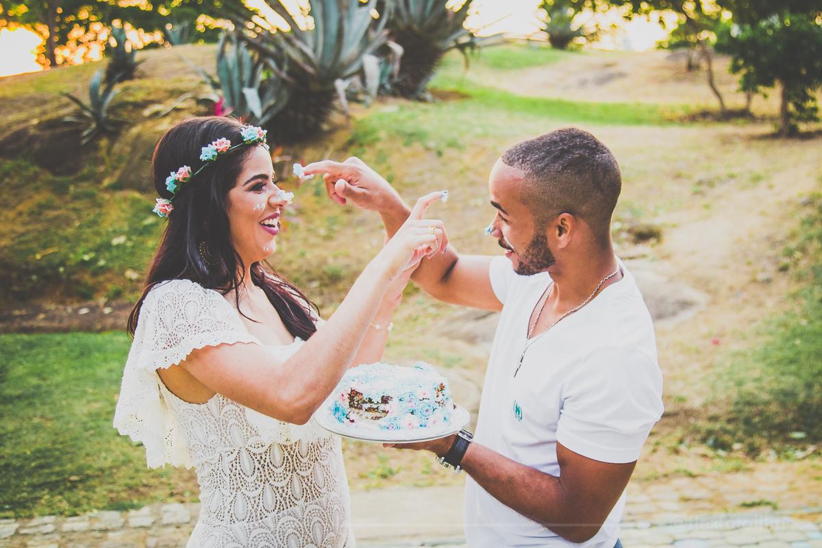 Foto de Ensaio Pré Yorrana e Thales