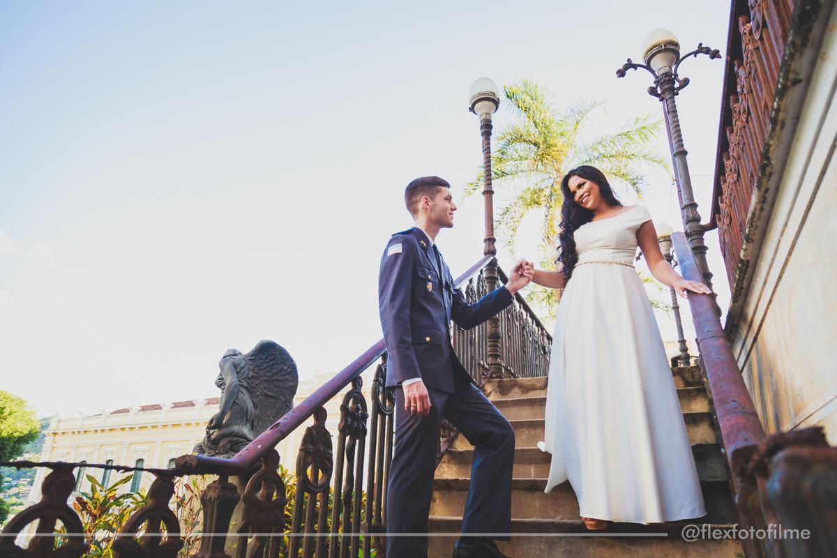 Foto de Ariane e Edgard