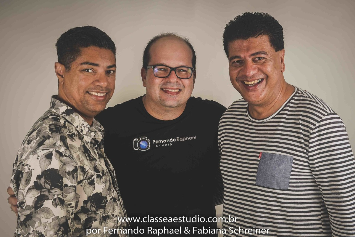 Miguel Braga, Fernando Raphael, Marcos Sales