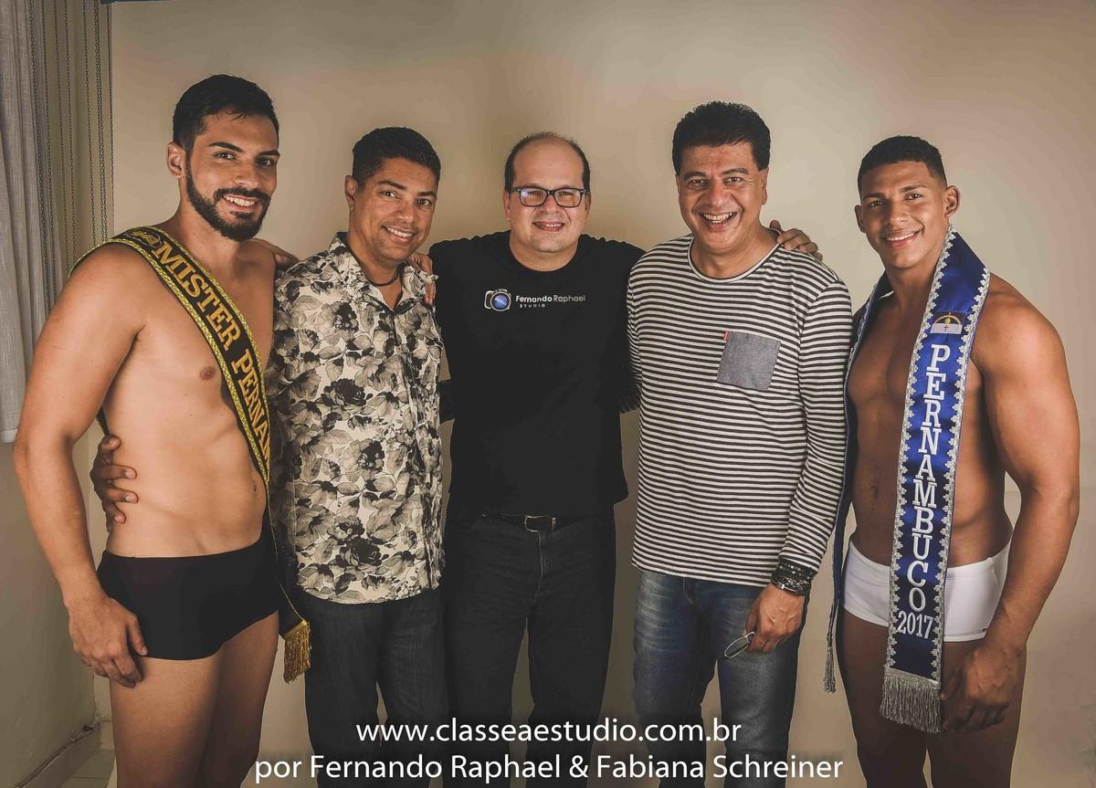 Mister pernambuco, Miguel Braga, Fernando Raphael, Marcos Sales