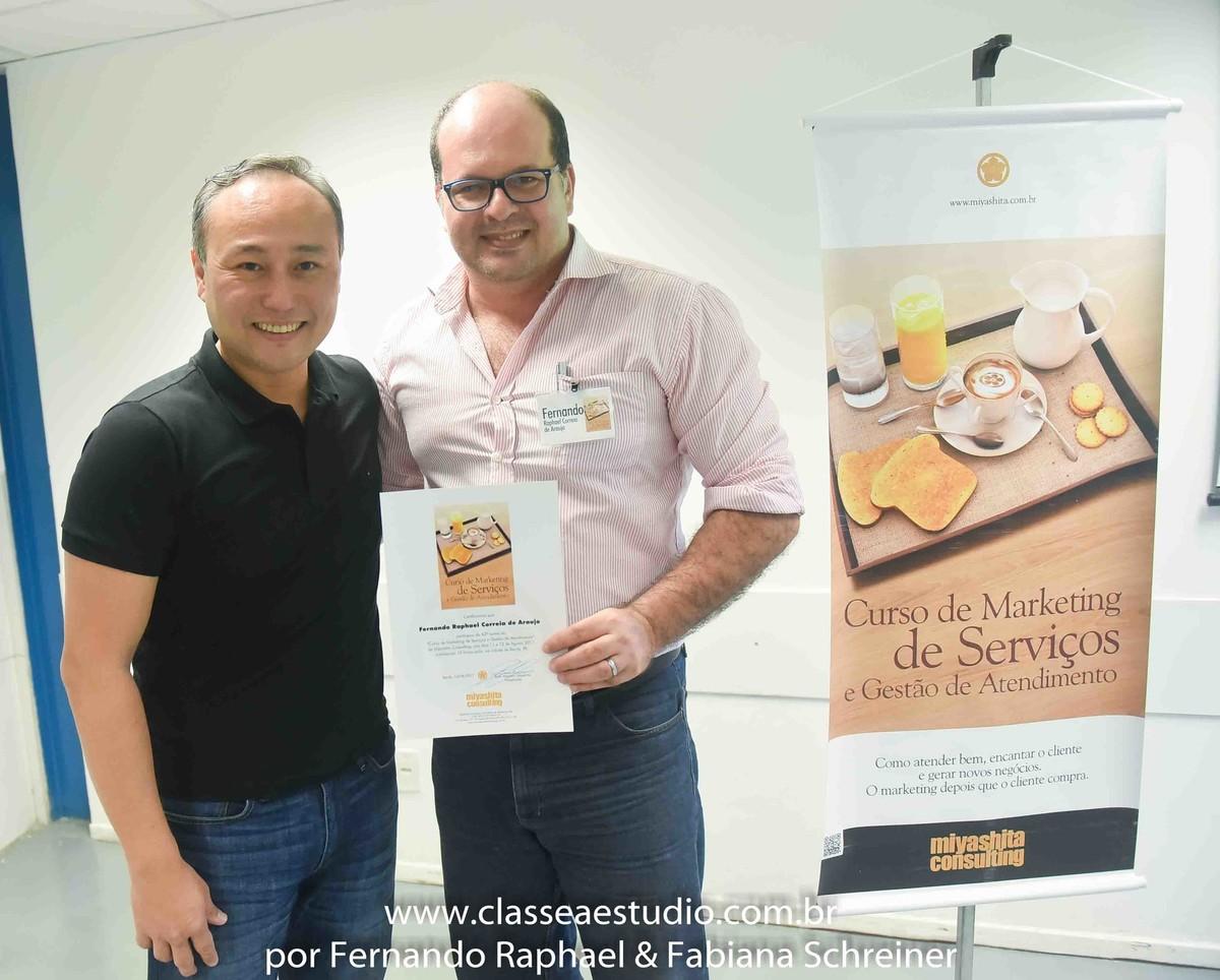 consultores de marketing Marcelo Miyashita e Fernando Raphael