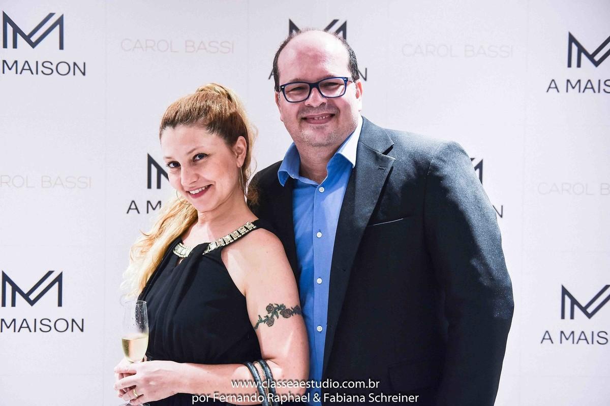 Os consultores de marketing Fabiana Schreiner e Fernando Raphael