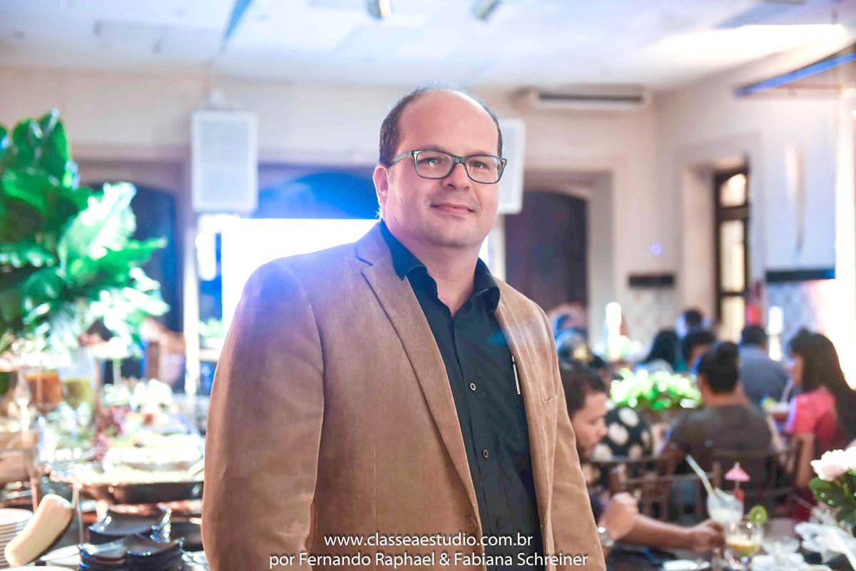 consultor de marketing Fernando Raphael no evento Wedding Day