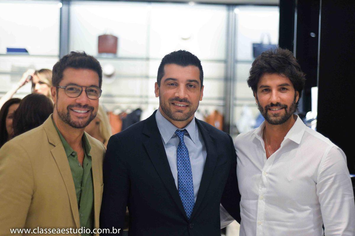 Foto de Lançamento da nova coleção Emporio Armani