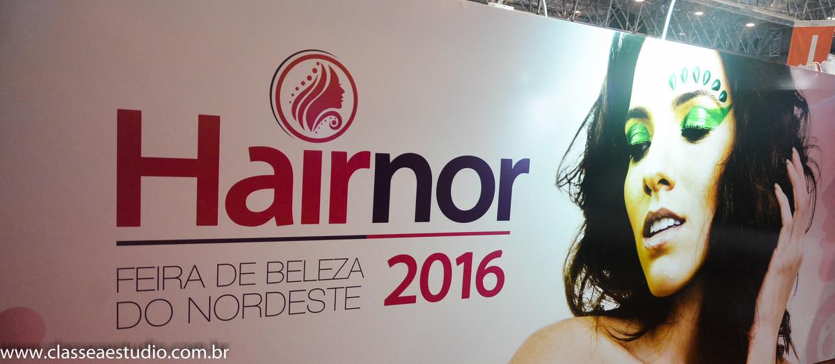 Hairnor no centro de convenções