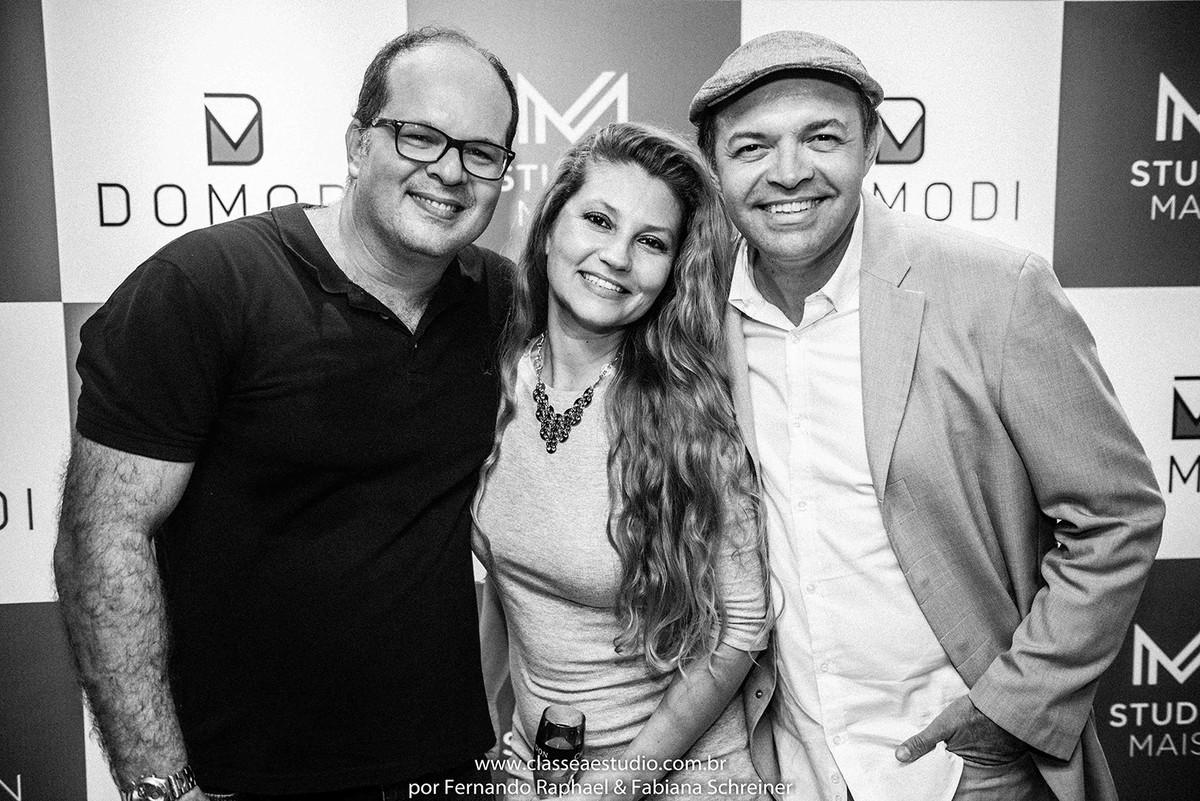Fernando Raphael, Fabiana Schreiner e Andre Dantas