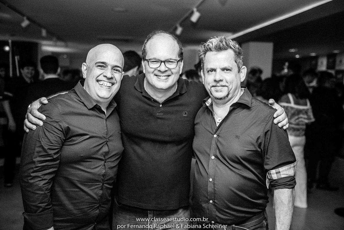 Renato Filho, Fernando Raphael e Henrique Melo