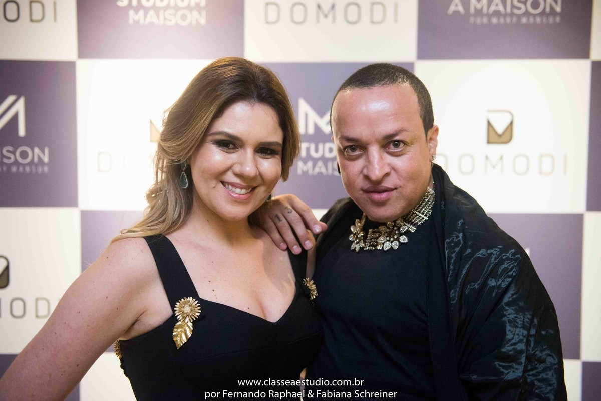 Mary Mansur e Walerio Araujo